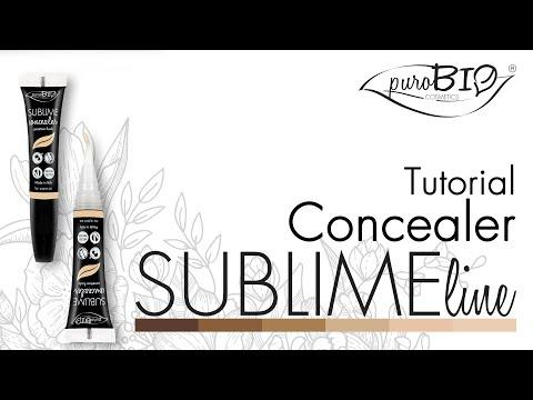 Tutorial SUBLIME Correttore Fluido - puroBIO cosmetics