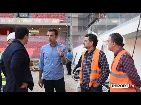 Stadiumi i ri gati për Shqipëri-Francë, Veliaj: Bizhu që i shtohet Tiranës, radhën e ka Teatri