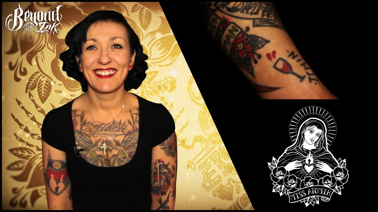 Tattoo itw with tattoo artist Miss Atomik