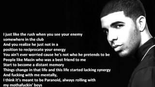 Drake - Wu Tang Forever - Lyric Video