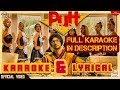 Putt Jatt Da | Karaoke & Lyrical (OfficialVideo ) | Diljit Dosanjh | Ikka I Kaater I Latest Songs