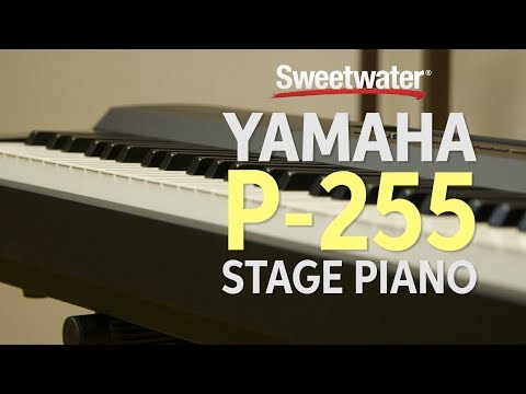 Yamaha P-255 Stage Piano Review