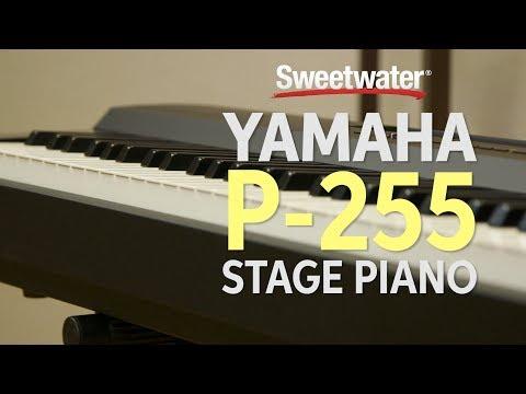 YAMAHA P-255 B Přenosné digitální stage piano