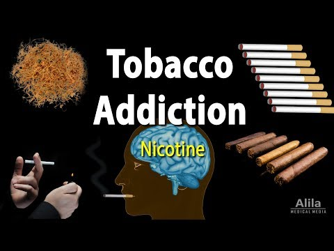 Tobacco Addiction: Nicotine and Other Factors, Animation