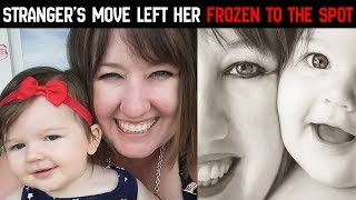 After This Mom Locked Her Keys In Her Car, A Stranger's Next Move Left Her Frozen To The Spot