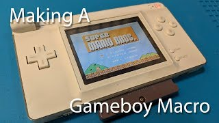 How To Make A Gameboy Macro From A DS Lite