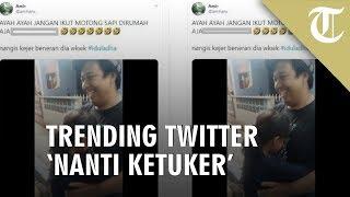 Trending 1 Twitter, Tak Izinkan Ayah Potong Sapi Kurban, Alasan Gadis Ini Bikin Tertawa