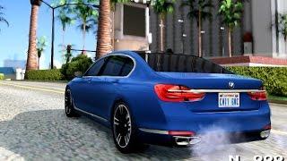 BMW 7 2015 - GTA San Andreas