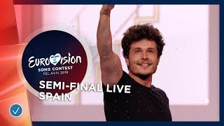 Spain   LIVE   Miki   La Venda   First Semi Final   Eurovision 2019