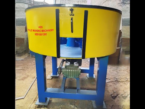 Automatic Pan Type Concrete Mixer
