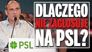 Dlaczego nie zagłosuję na Polskie Stronnictwo Ludowe?