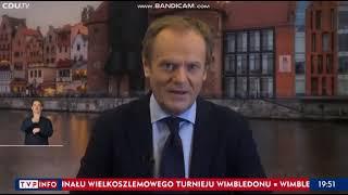 """TVPIS: """"Tusk wskazany przez niemieckie media na polskiego oppositionsführer."""""""