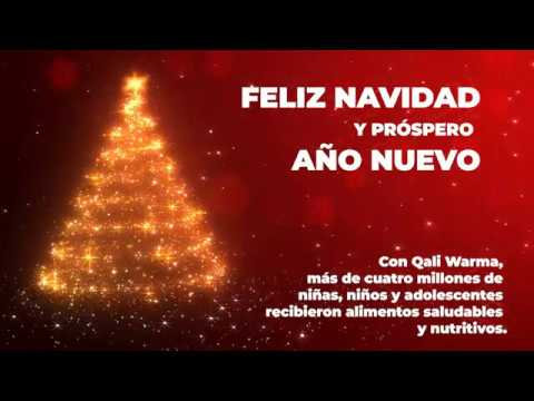 Saludo de Navidad en Qali Warma