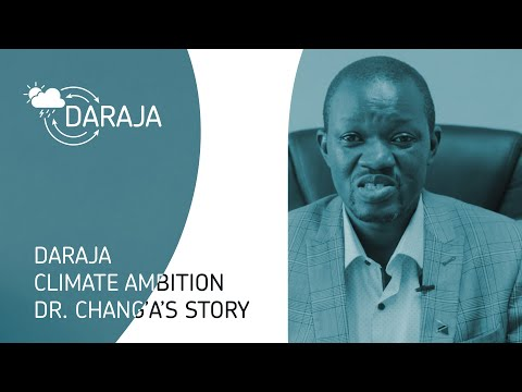 DARAJA Climate Ambition – Dr Chang'a