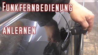 Funkschlüssel anlernen Audi TT 8N ohne Diagnosegerät