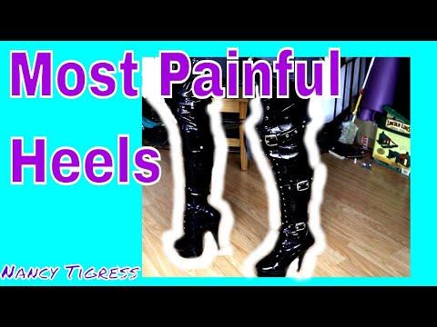 Pleaser Thigh High Heel Boots Shoe Review #highheels #shoereview #boots #heels