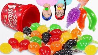 Tiktok Fruit Jelly Challenge Mukbang 틱톡 젤리 챌린지 DONA 도나 먹방