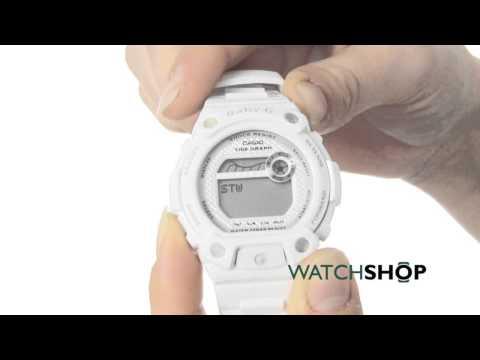 Casio Ladies' Baby-G Alarm Chronograph Watch (BLX-100-7ER)