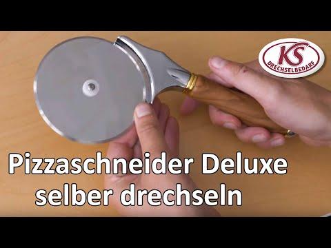 Hochwertigen Pizzaschneider selber drechseln - Tipps und Tricks mit Hella Heigel