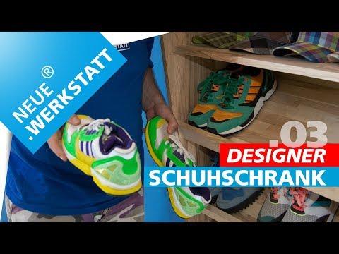 TAG.03   Designer Schuh-/Garderobenschrank einfach mal selber machen?