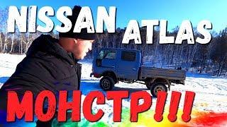 Двухкабинный грузовик для охоты и рыбалки