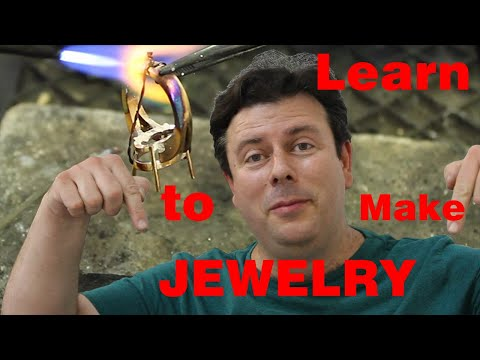 Learn to make jewelry: Online courses