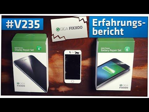 #V235 - iPhone Display + Akku selbst tauschen: Vorsicht bei Giga Fixxoo Reperatur-Kits