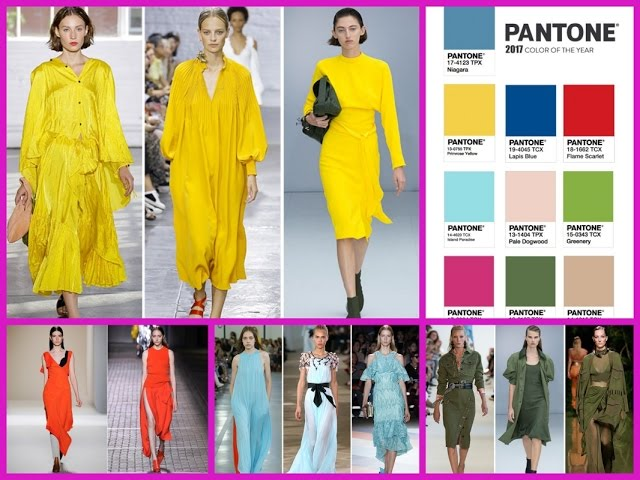 Top 10 Colors: Spring 2016 Pantone Fashion Color Spring summer fashion colours
