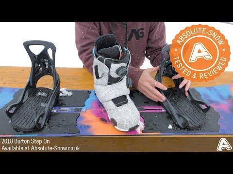 2017 / 2018 | Burton Step On Snowboard Bindings | Video Review