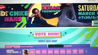 Kids' Choice Awards 2021 Voting