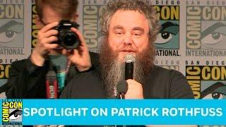 Spotlight on Patrick Rothfuss Full Panel | San Diego Comic-Con 2016