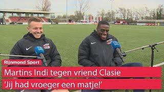Martins Indi en Clasie over bijna twintig jaar vriendschap, teleurstellingen, Feyenoord en kinderen