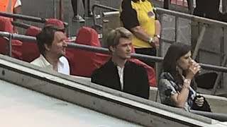 Joe Alwyn & His Entire Family Watching Taylor Swift Reputation Tour London