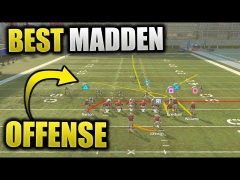 THE BEST OFFENSE IN MADDEN 19! RUN THIS MONEY PLAY SCHEME