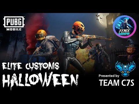 Halloween Elite Custom LIVE | No Emulators | No Hackers | PUBGM