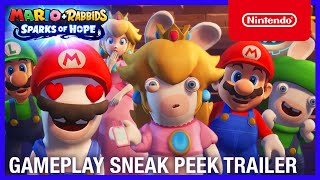 Nintendo Mario + Rabbids Sparks of Hope - Gameplay Sneak Peek Trailer - Nintendo Switch anuncio
