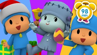 ✨ POCOYO in ENGLISH -Special Episodes 2019 [98 minutes]  Full Episodes  VIDEOS and CARTOONS for KIDS