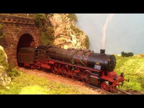 Le montagne nel plastico ferroviario