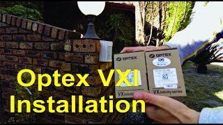 How to install an Optex VXI PIR alarm sensor - Detailed