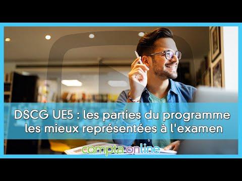 Les sujets de DSCG UE5 Management des systèmes d'information