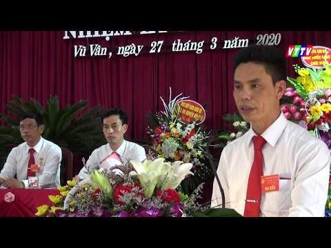 Đại hội Đảng bộ xã Vũ Vân nhiệm kỳ 2020-2025