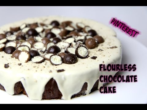 Video Pinterest Test: FLOURLESS CHOCOLATE CAKE - CookingwithKarma