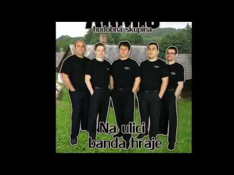Armis - Ukážka CD - Na ulici banda hraje - skupina ARMIS