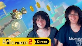 EN VOITURE MARIO ! - Super Mario Maker 2 Direct (Live Reaction)