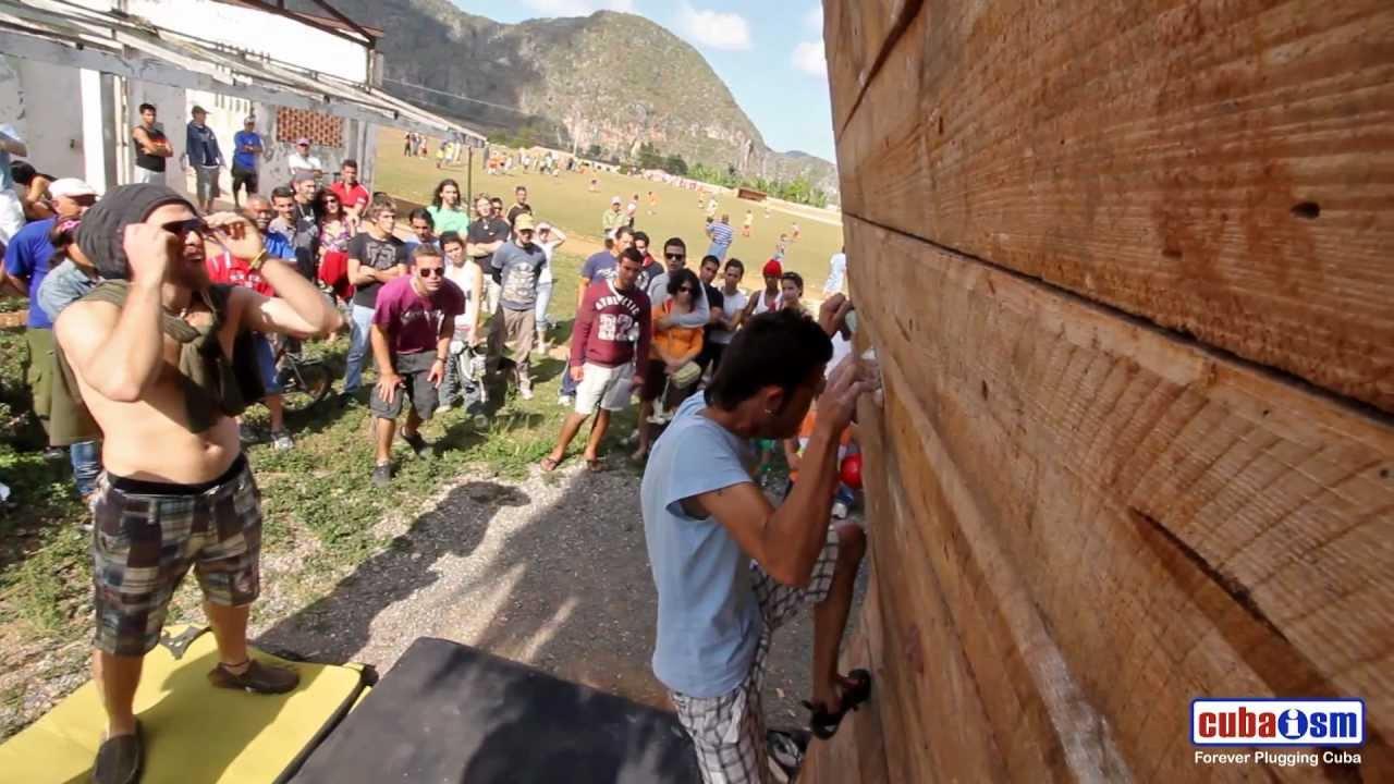 Cuba Climbing Festival 2011 - 1st Bouldering Problem - 021v01