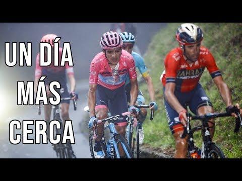 Resumen y analisis - Etapa 16 - Giro de Italia 2019 / Carapaz mas lider
