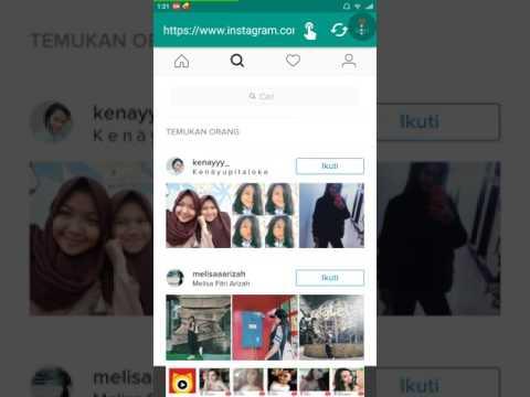 Video Cara verifikasi akun Instagram dengan sangat mudah (prank)