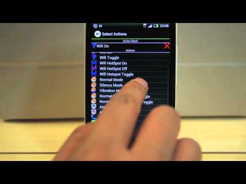 Video of NFC Android Tag