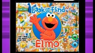 "Sesame Street: ""Look and Find Elmo on Sesame Street"" App Preview"