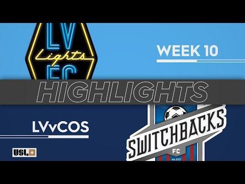 Las Vegas Lights - Колорадо Спрингс 3:0. Видеообзор матча 12.05.2019. Видео голов и опасных моментов игры